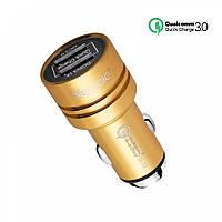 Автомобильная зарядка Qualcomm Quick Charge 3.0, 12В - 24В, Veecle