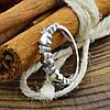 Серебряное кольцо Виолетта вставка белые фианиты вес 2.2 г размер 15.5, фото 3