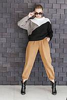 Джемпер с трехцветным рисунком, фото 1