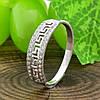 Серебряное кольцо Возрождение №2 вставка белые фианиты вес 1.6 г размер 20, фото 2