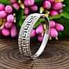 Серебряное кольцо Возрождение №2 вставка белые фианиты вес 1.6 г размер 20, фото 5