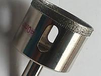 Коронка с алмазным напылением по керамике , стеклу 40 мм