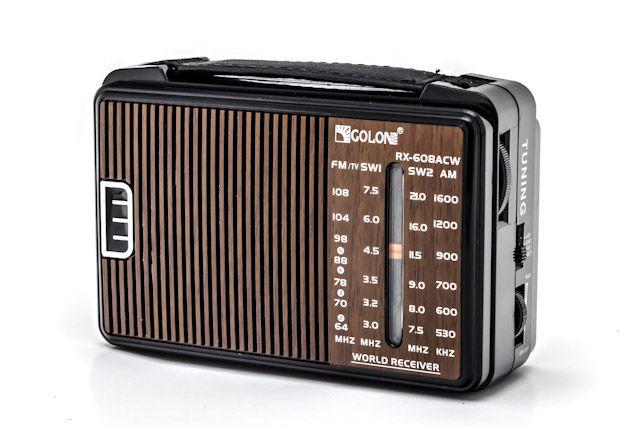 Радиоприемник RX-608ACW GOLON