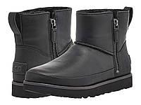 Ботинки/Сапоги (Оригинал) UGG Classic Zip Mini Black, фото 1