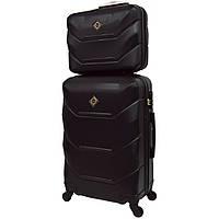 Комплект чемодан + кейс Bonro 2019 (небольшой) черный, фото 1
