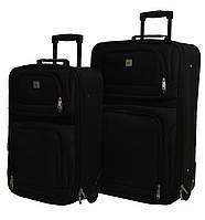 Набор чемоданов Bonro Best 2 шт черный