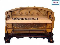 Кованые банкетки, диванчики