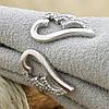 Серебряное кольцо Крылья ангела вес 2.16 г размер 18, фото 2