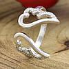Серебряное кольцо Крылья ангела вес 2.16 г размер 18, фото 3