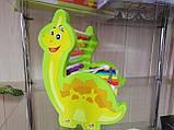 Ксилофон счеты Динозавр, фото 3