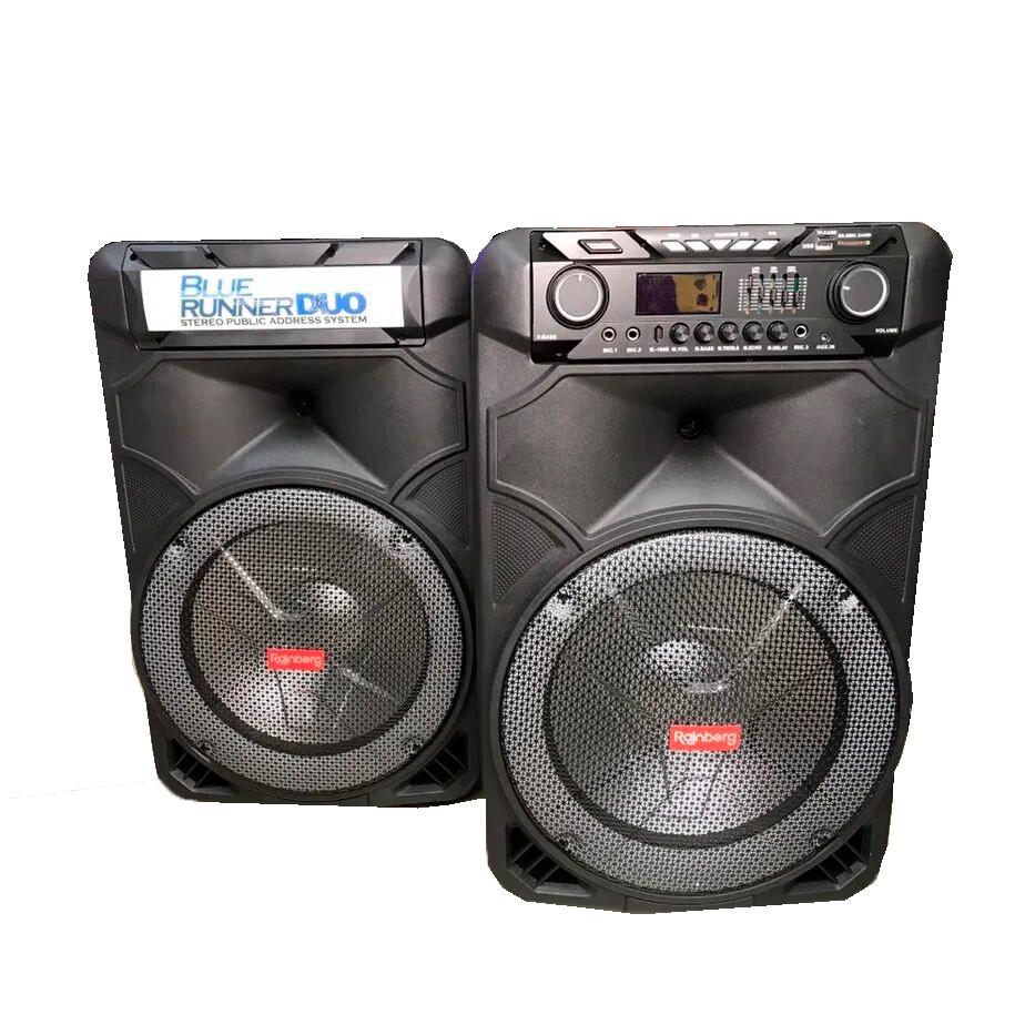 Комплект колонок Rainberg RB-888 250Вт | Активная акустическая система