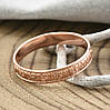Кольцо Xuping Спаси и Сохрани 15176 размер 21 ширина 4 мм вес 1.6 г позолота РО, фото 2