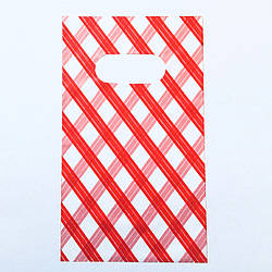 Подарочные пакетики для изделий 50 шт, красный, размер 9*15см