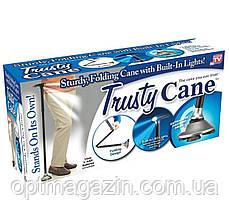 Складная трость с фонариком Trusty Cane