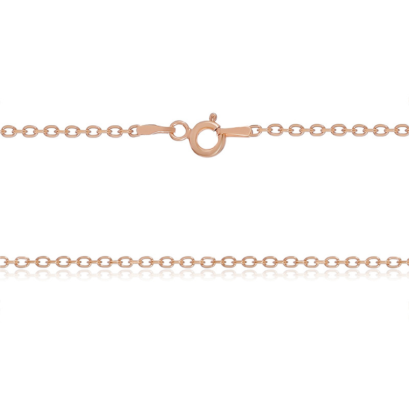 Сербряная цепь позолоченная  - 855Б 2/40