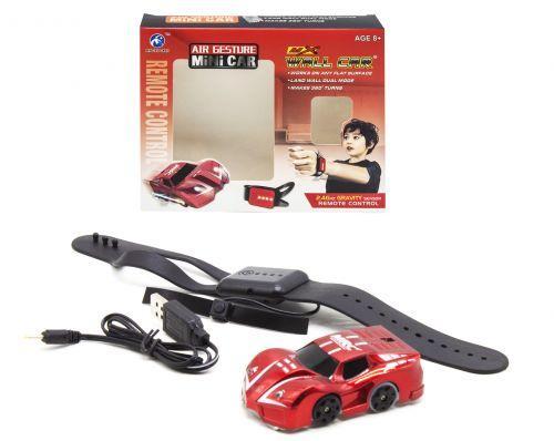 Машинка-стенолаз, красный MX-32