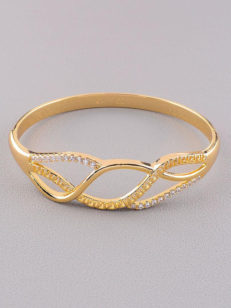 Браслет на руку ювелирная бижутерия позолота с фианитами медицинское золото Xuping Jewelry  Jewelry