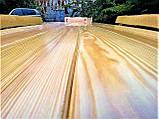 Садовая мебель из массива дерева 2000х800 от производителя для дачи, пабов, комплект Furniture set - 10, фото 3