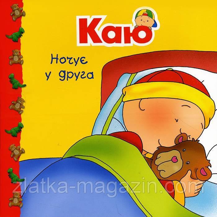 Каю ночує у друга - Николь Надо (9789661053693)