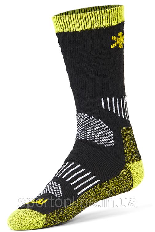 Термоноски Norfin (Норфин) Balance Wool, с шерстью мериноса, средней длинны, черные с вставками 39-41