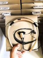 Стереонаушники для спорта Stn-730 наушники-вкладыши Level U Золотые, спортивная Bluetooth гарнитура Реплика