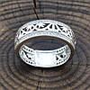 Серебряное кольцо Украиночка вставка белые фианиты вес 3.9 г размер 17.5, фото 5