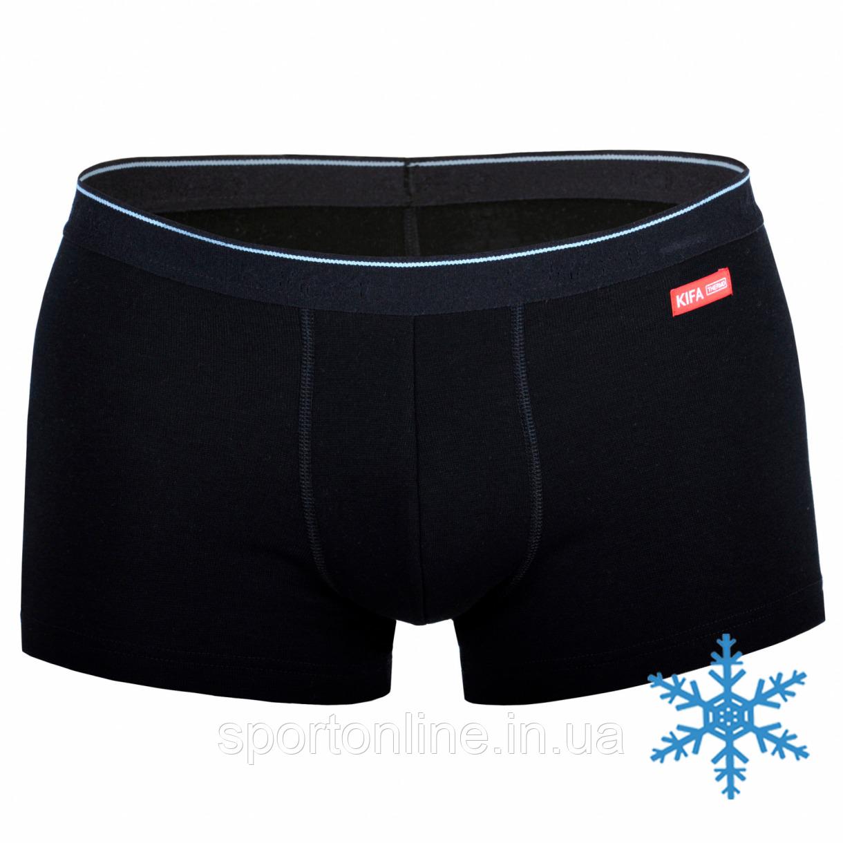 Термотрусы чоловічі Кифа (Kifa) VORTEX Active Comfort ТМ-637, чорні, теплі S