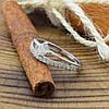 Серебряное кольцо Пассаж вставка белые фианиты вес 1.89 г размер 17.5, фото 10