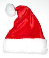 Новогодняя Шапка Взрослая Деда Мороза Колпак Санта Клауса Santa Claus , фото 1