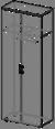 Шкаф для одежды Гранд ДСП 3\322 (800х400х2100)