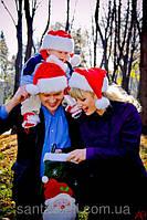 Новогодняя Шапка Взрослая Деда Мороза Колпак Санта Клауса Santa Claus