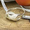Серебряное кольцо Алина вставка белые фианиты вес 2.1 г размер 18, фото 2