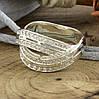 Серебряное кольцо Варшава вставка белые фианиты вес 5.2 г размер 20, фото 2