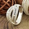 Серебряное кольцо Варшава вставка белые фианиты вес 5.2 г размер 20, фото 3