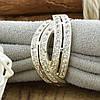 Серебряное кольцо Варшава вставка белые фианиты вес 5.2 г размер 20, фото 5