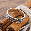 Серебряное кольцо Принцип вес 3.1 г размер 18.5, фото 2