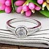 Серебряное кольцо Вечное очарование вес 2.95 г размер 17.5, фото 2