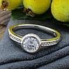 Серебряное кольцо Вечное очарование вес 2.95 г размер 17.5, фото 4