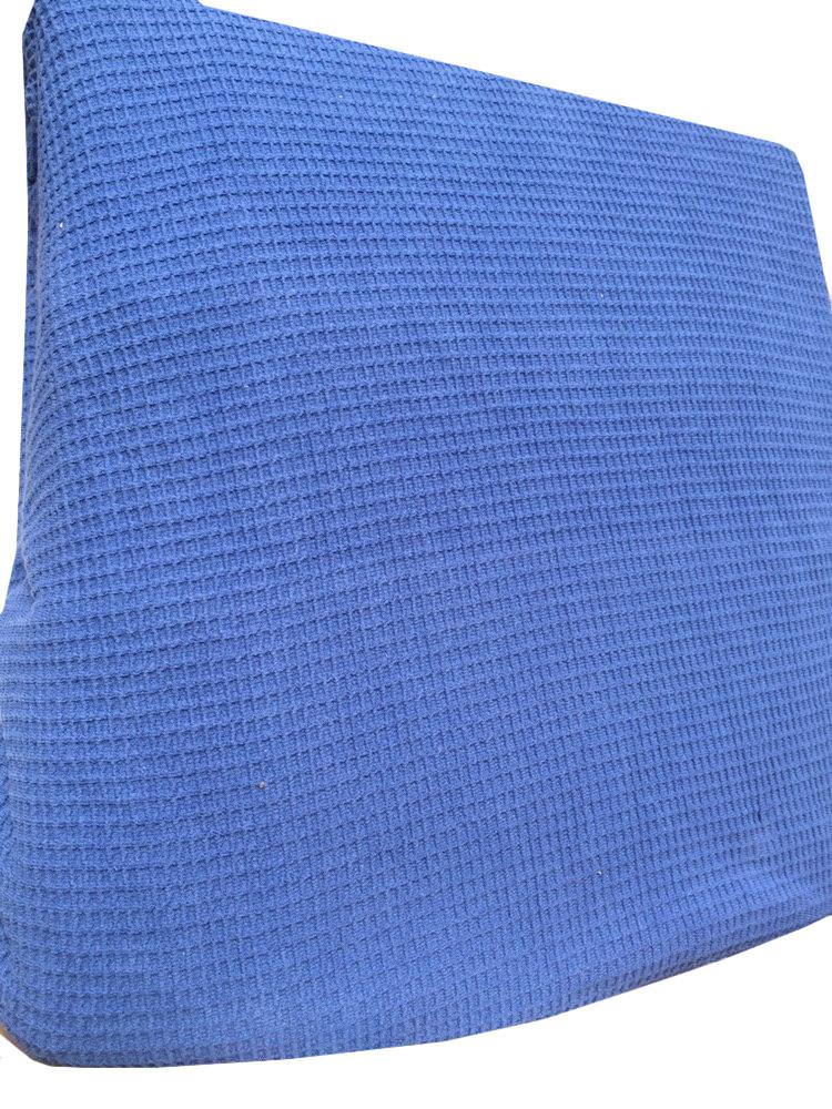 Чехол для дивана цвета Вафельный синий