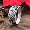 Серебряное кольцо Словяночка вставка белые фианиты вес 2.4 г размер 18, фото 3