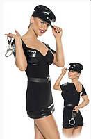 Эротический ролевой (карнавальный костюм)  Roxana policewoman uniform R6290103