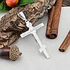 Серебряный крест большой Спаси и Сохрани размер 74х39 мм вес 10.79 г, фото 2