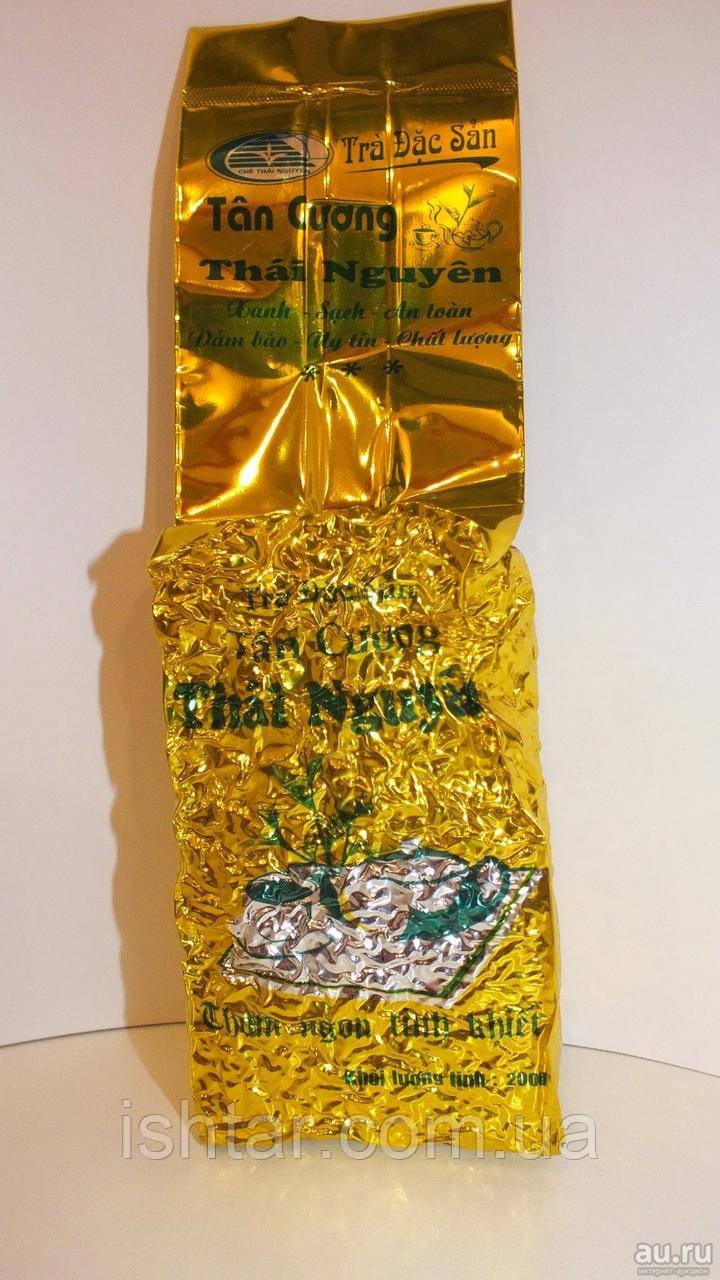 Крупнолистовой зеленый чай Thai Nguyen (высшего сорта)200 гр.
