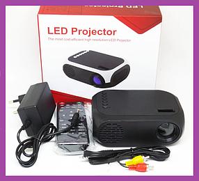 Міні проектор портативний мультимедійний Led Projector YG320C