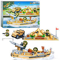 Конструктор BANBAO (БАНБАО) 8239 военная база, транспорт