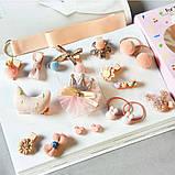 Набор детских заколок Gift for Soul Розовый 18 штук РР 18 С П, фото 2