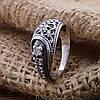 Серебряное кольцо Марьяна вставка белые фианиты вес 2.7 г размер 18.5, фото 4