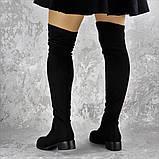 Женские ботфорты Elvis черные 1454 Размер 36 - 23 см, фото 3