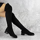 Женские ботфорты Elvis черные 1454 Размер 36 - 23 см, фото 4