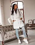 Женская куртка, плащёвка + синтепон 100 + подкладка, р-р 42-44; 44-46 (белый), фото 2